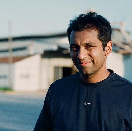 Filmmaker Soham Mehta, who grew up in Houston.